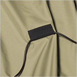AC1121SET-K バートル エアークラフト[空調服]ハーネス対応 長袖ブルゾン(男女兼用) ポリ100% コードストッパー(マジックテープ止め)