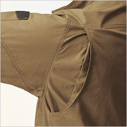 AC1131SET バートル エアークラフトセット[空調服]長袖ブルゾン(男女兼用) 綿100% 背アームノーフォーク