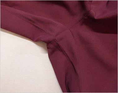 MZ-0022 ミズノ(mizuno) スクラブパンツ(男女兼用)股下マチ 動きやすい股下マチ 足さばきの時の引きつれを防止し、快適な動きを実現します。