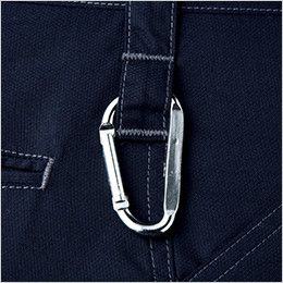自重堂 52102 [秋冬用]JAWIN ノータックカーゴパンツ(新庄モデル) 裾上げNG カラビナループ