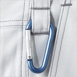 自重堂 52201 JAWIN ノータックパンツ(新庄モデル) カラビナループ