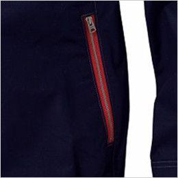 自重堂JAWIN 54070SET [春夏用]空調服セット 長袖ブルゾン 綿100% レッドファスナー