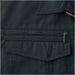 自重堂 55204 [春夏用]JAWIN 長袖シャツ ファスナーポケット