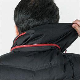 自重堂JAWIN 58400 マルチストレッチ防寒ジャンパー(フード付)[刺繍NG](新庄モデル) ファスナー