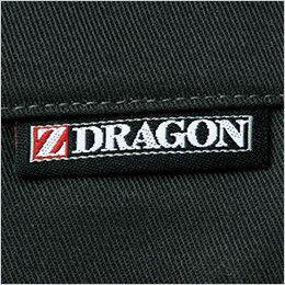 自重堂Z-DRAGON 75201 [春夏用]ノータックパンツ(男性用) ワンポイント