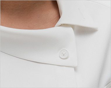FE4522 ナガイレーベン(nagaileben) フェルネ チュニック(女性用) ボタンを外してアンバランスでオシャレな襟元