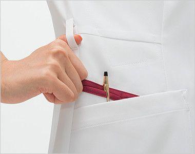 FT4552 ナガイレーベン(nagaileben) フェルネ チュニック(女性用) ループ・収納が多い多機能ポケット