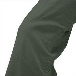 9800 桑和 綿100%開襟ツナギ ひざ当て布