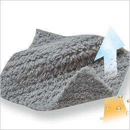 4236 TS DESIGN マイクロファーロングスリーブジャケット(男女兼用) マイクロファー素材