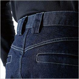 5134 TS DESIGN メンズニッカーズカーゴパンツ(男女兼用) 腰補強(刺し子仕様)