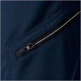 8114 TS DESIGN アクティブメンズカーゴパンツ(男性用) ファスナーポケット