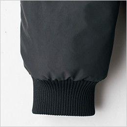 ジーベック 322 密度タフタボリューム中綿防寒防寒ブルゾン リブ仕様