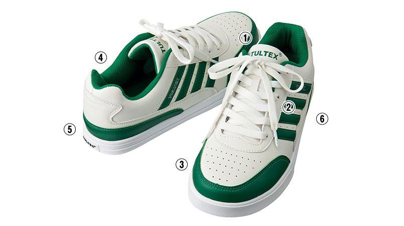 AZ51627 アイトス タルテックス 安全靴 4本ライン スチール先芯 商品詳細・こだわりPOINT