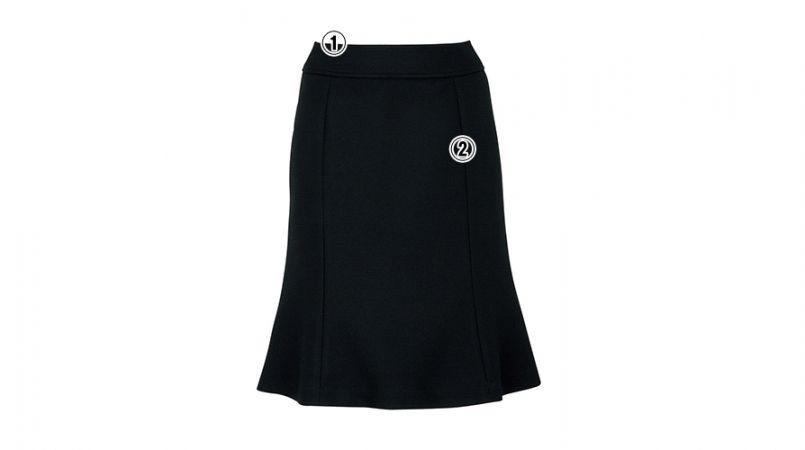BONMAX AS2247 [通年]エターナル マーメイドスカート 無地 商品詳細・こだわりPOINT