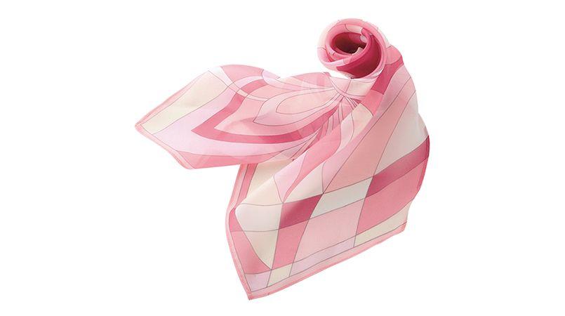 EAZ252 enjoy 甘く優しげな雰囲気が漂うパステルカラーのスカーフ 商品詳細・こだわりPOINT