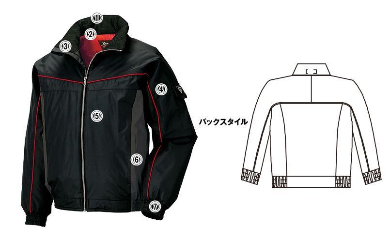 ジーベック 602 防水防寒ブルゾン 商品詳細・こだわりPOINT