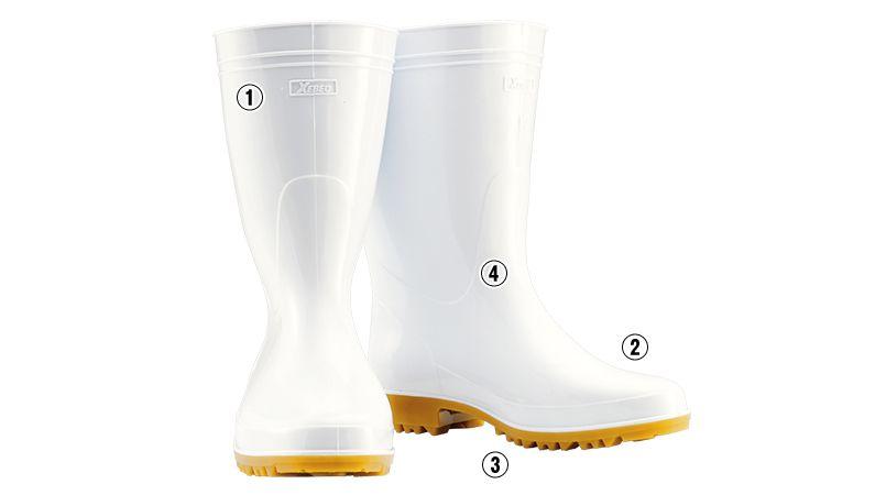 ジーベック 85760 耐油長靴 先芯なし 商品詳細・こだわりPOINT