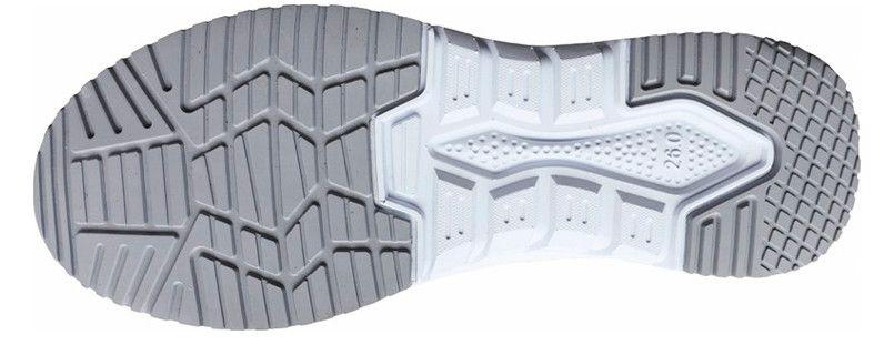 自重堂 S6172 Field Message 制電セーフティシューズ(マジックテープ) スチール先芯 アウトソール・靴底