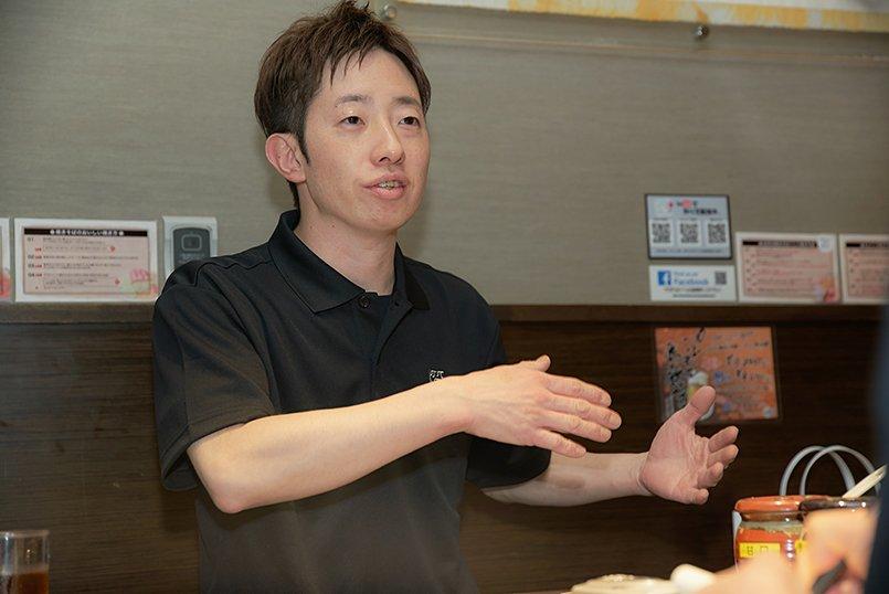 株式会社ダブルオーダイニング、代表取締役社長の大根田様